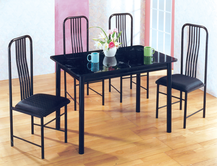 Black Discount Dinette Set at only $49/Down