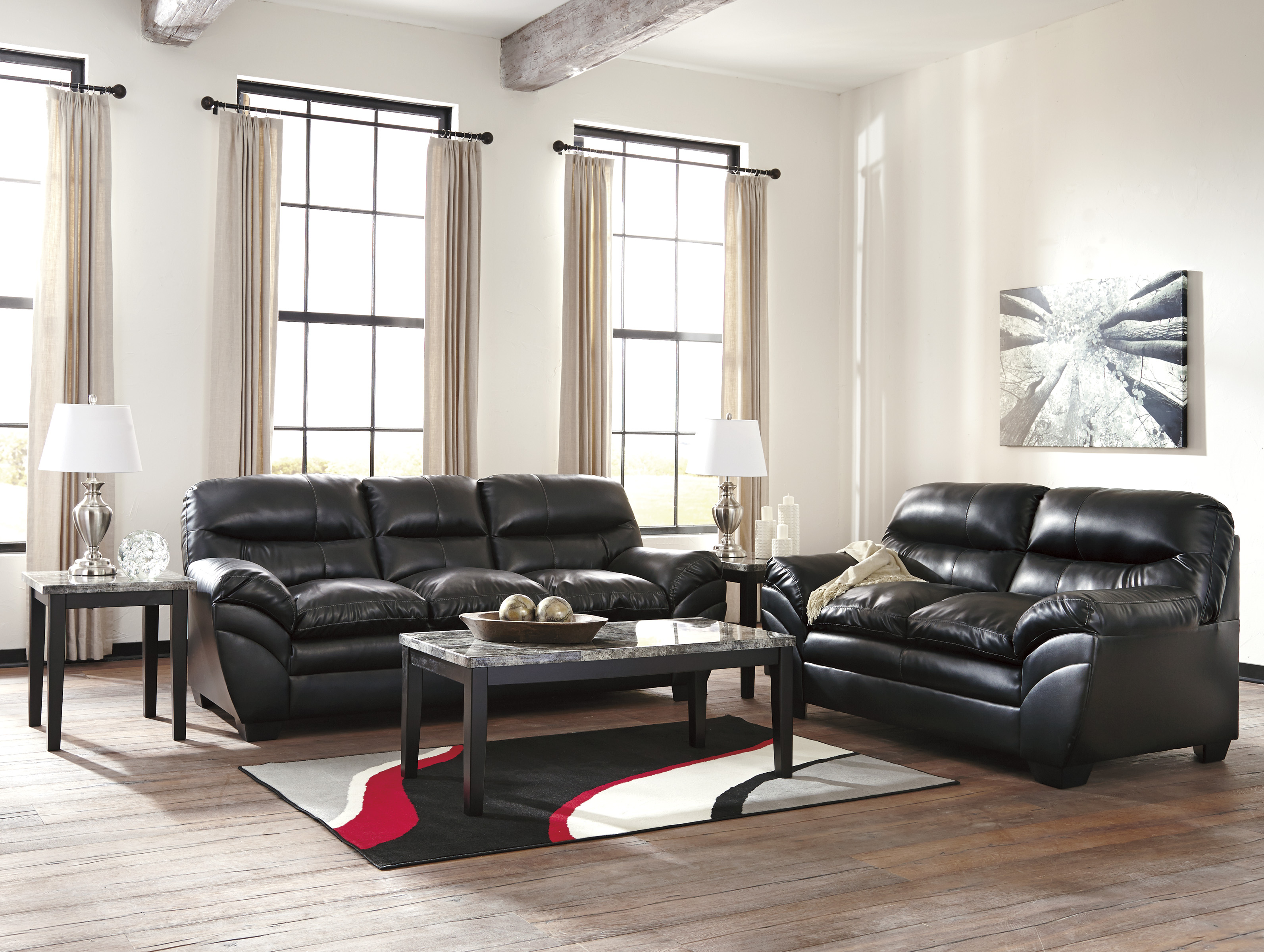 Leather sofas family discount furniture for Cheap affordable furniture