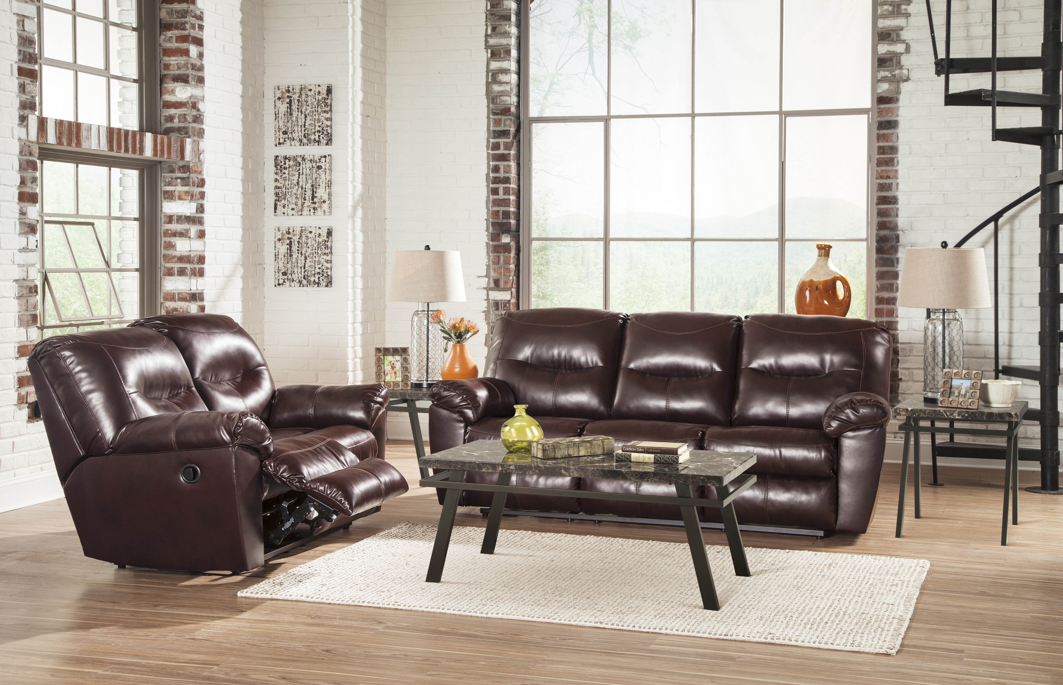 leather sofas family discount furniture