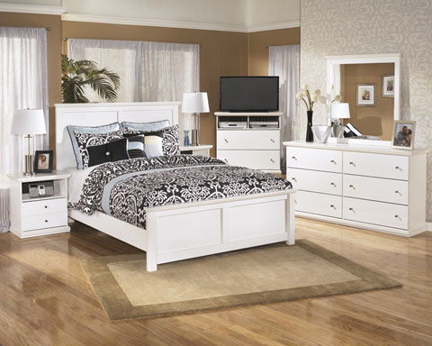 Modern Classic in White Bedroom Set