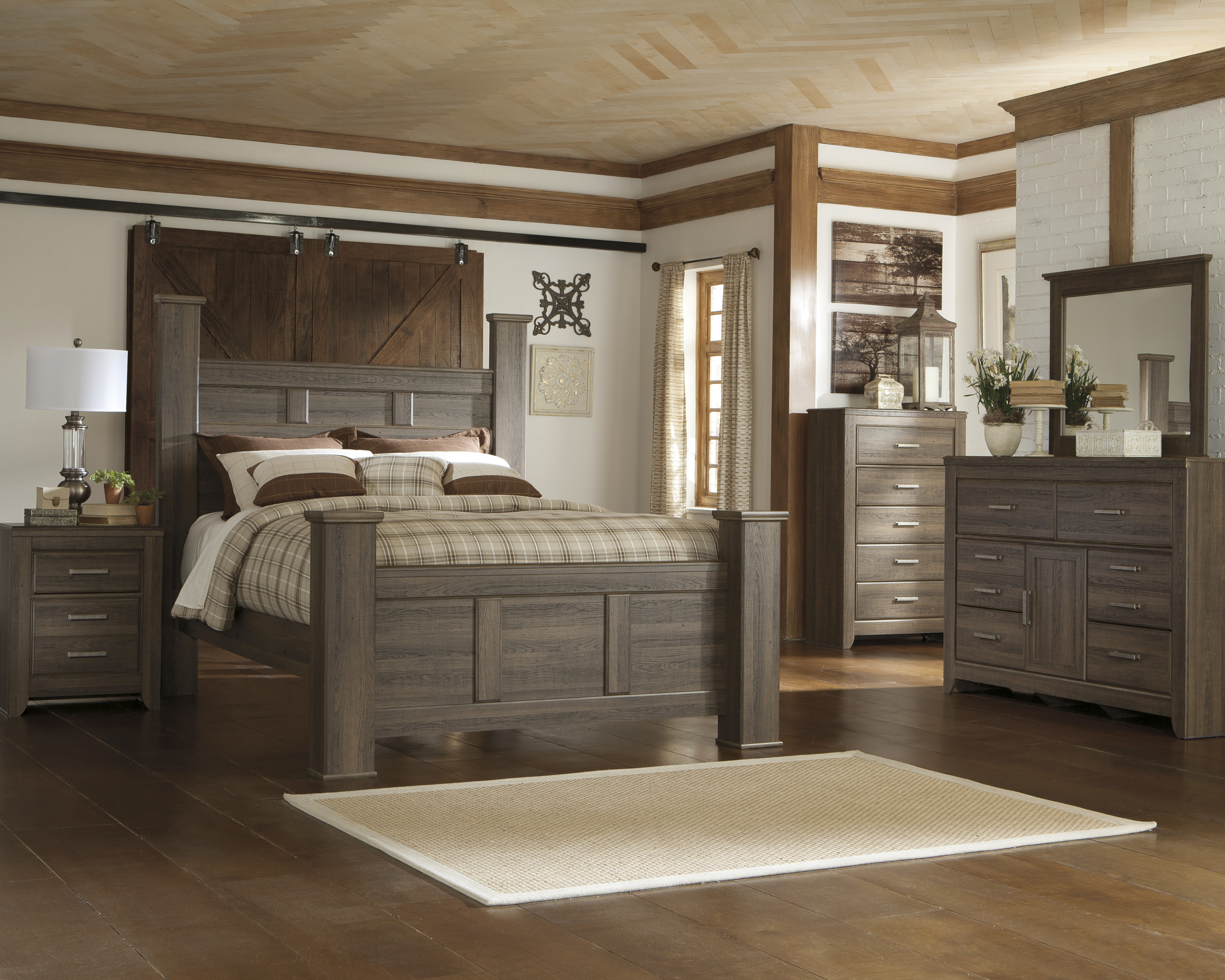 Large Modular Interior Adult Bedroom Set