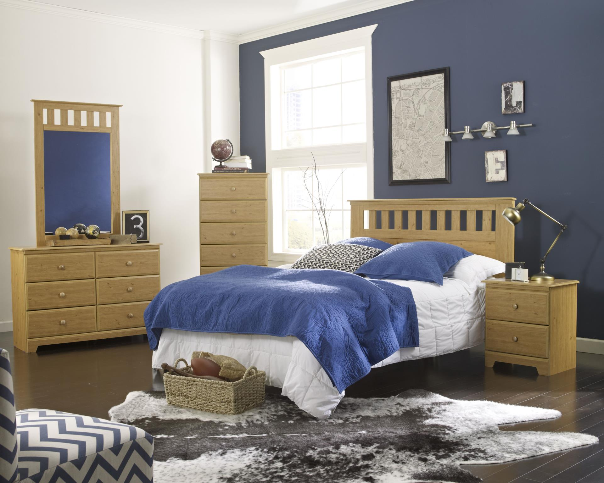 Classic Wood Style Adult Bedroom Set