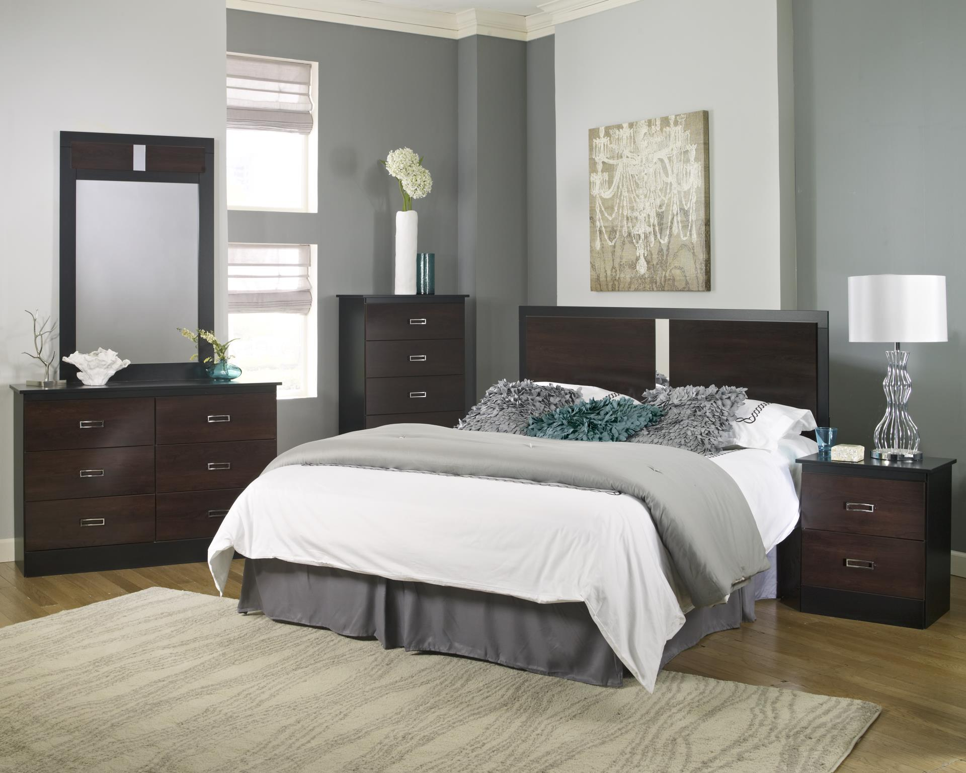 Beautiful Cherry Look Discount Adult Bedroom Set
