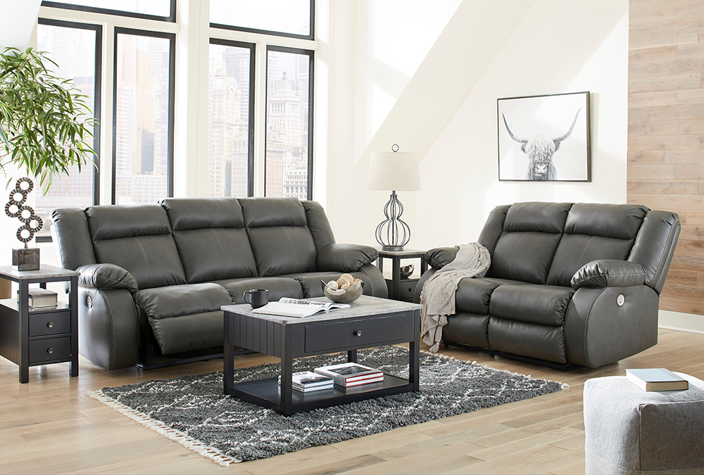Discount Adult Bedroom Set with Black Finish